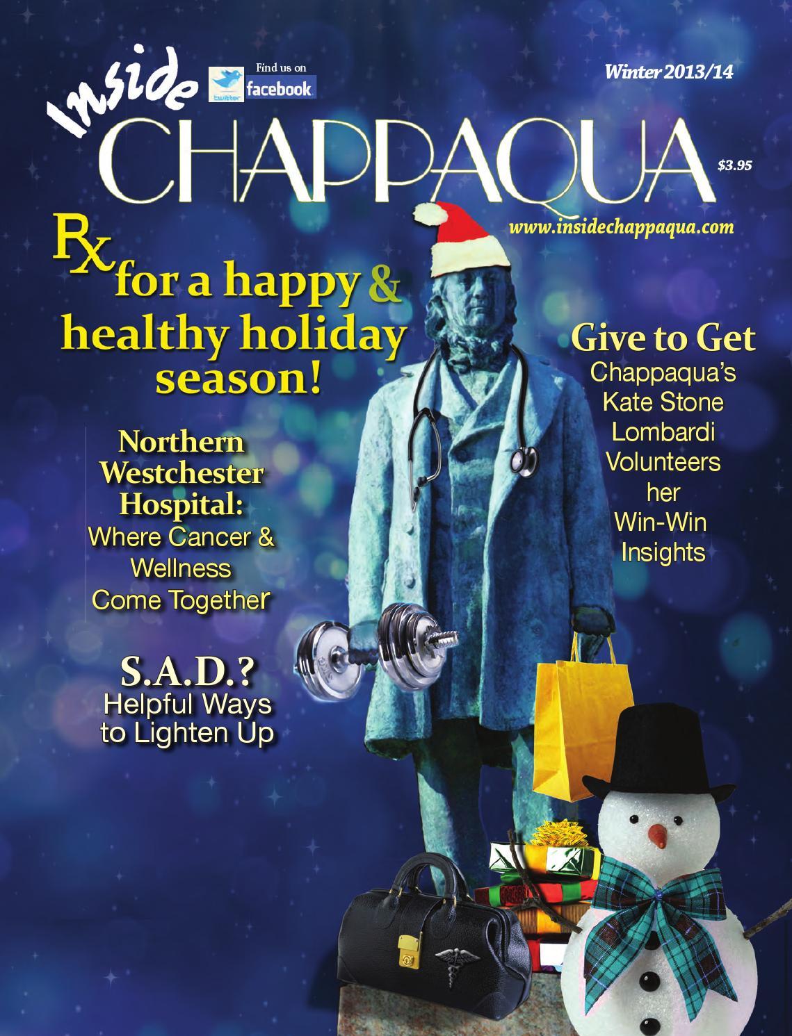 2013 december inside chappaqua magazine by the inside press