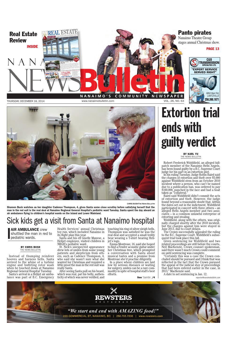 Nanaimo News Bulletin December 18 2014 By Black Press Issuu 0654277 Carling 50 Amp Red Boat On Off Rocker Circuit Breaker
