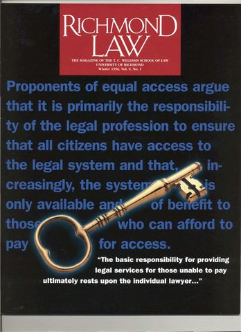 Richmond Law Winter 1996 By Ur Scholarship Repository Issuu