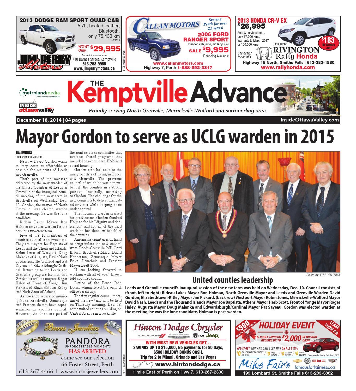 Kemptville121814 by Metroland East Kemptville Advance issuu