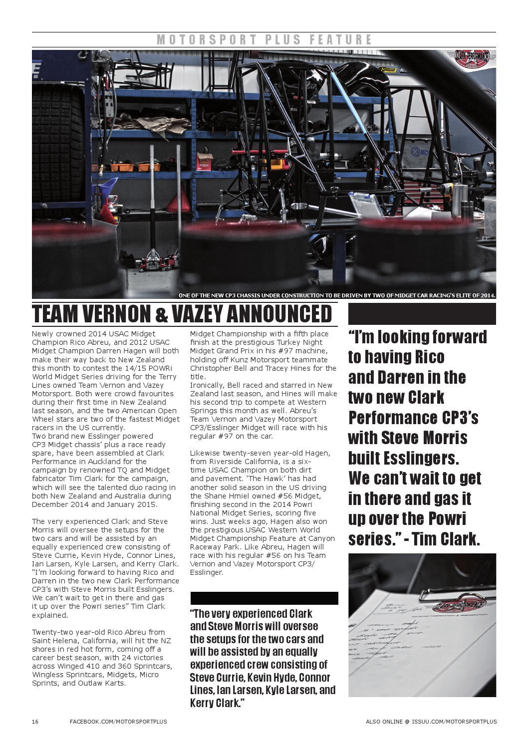 Motorsport Plus Magazine  Issue 003  by MotorsportPlus - issuu