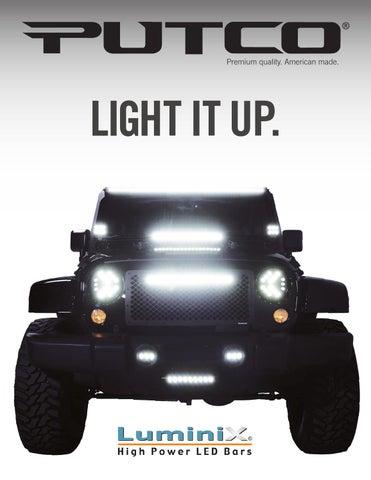 Putco 980294 Premium LED Dome Light for Jeep Wrangler 2 Door