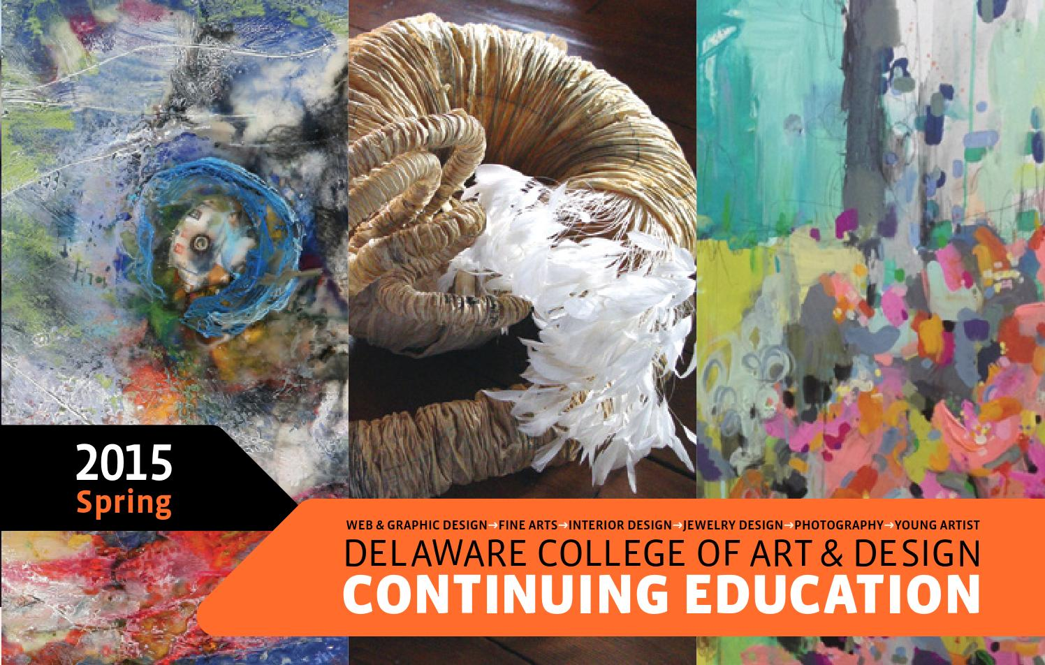 Dcad Continuing Education Spring 2015 Catalog By Delaware