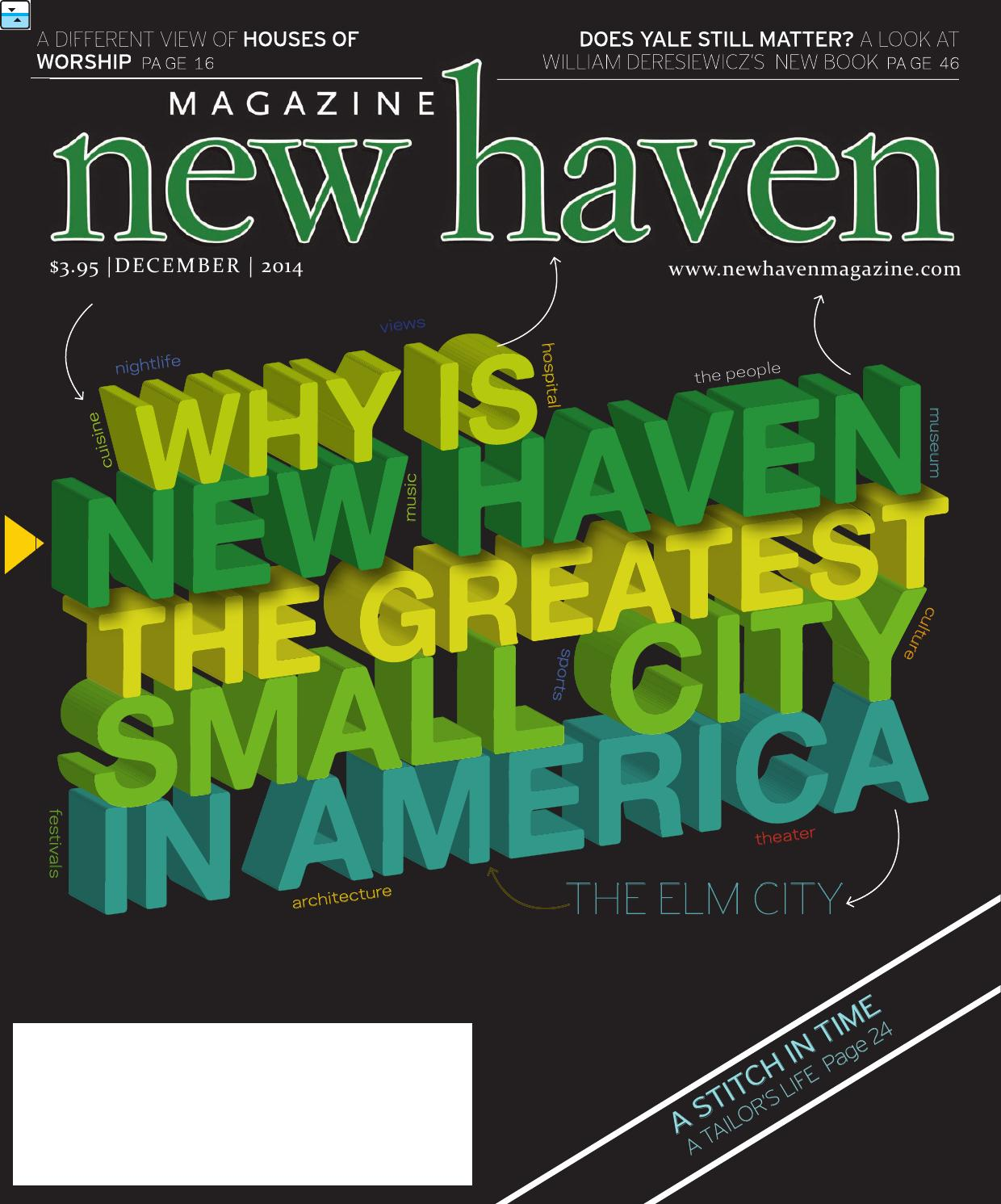 New Haven Magazine December 2014 By Second Wind Media Ltd