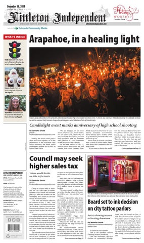 Littleton Independent 1218 By Colorado Community Media Issuu