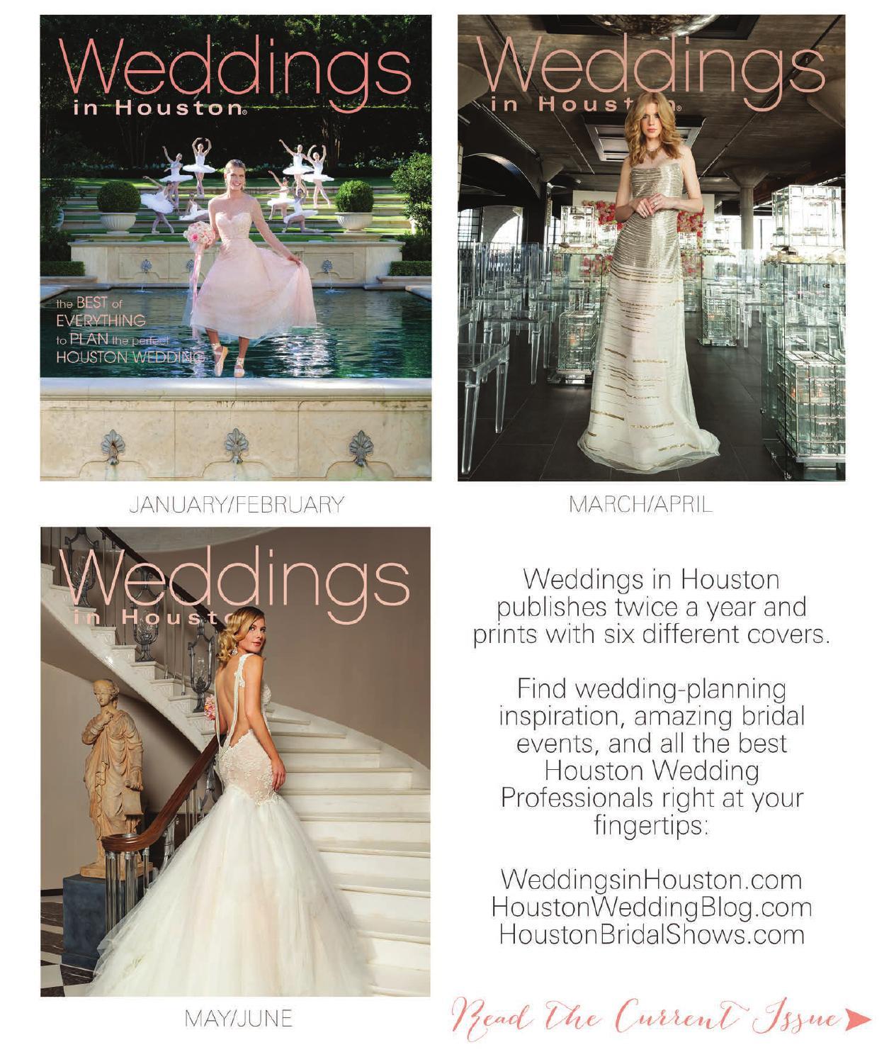 d0dab3236e9457 Weddings in Houston - JANUARY-JUNE 2015 by Weddings in Houston - issuu