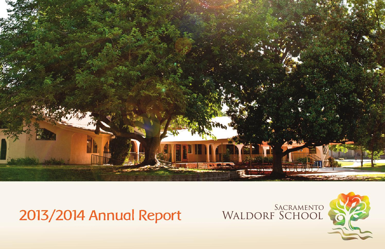 SWS 2013/2014 Annual Report by Sacramento Waldorf School - issuu