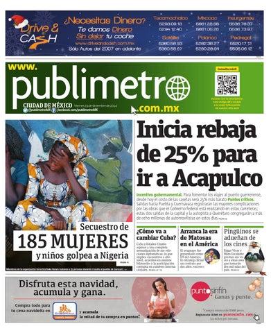 20141219mxpublimetro By Publimetro Mexico Issuu