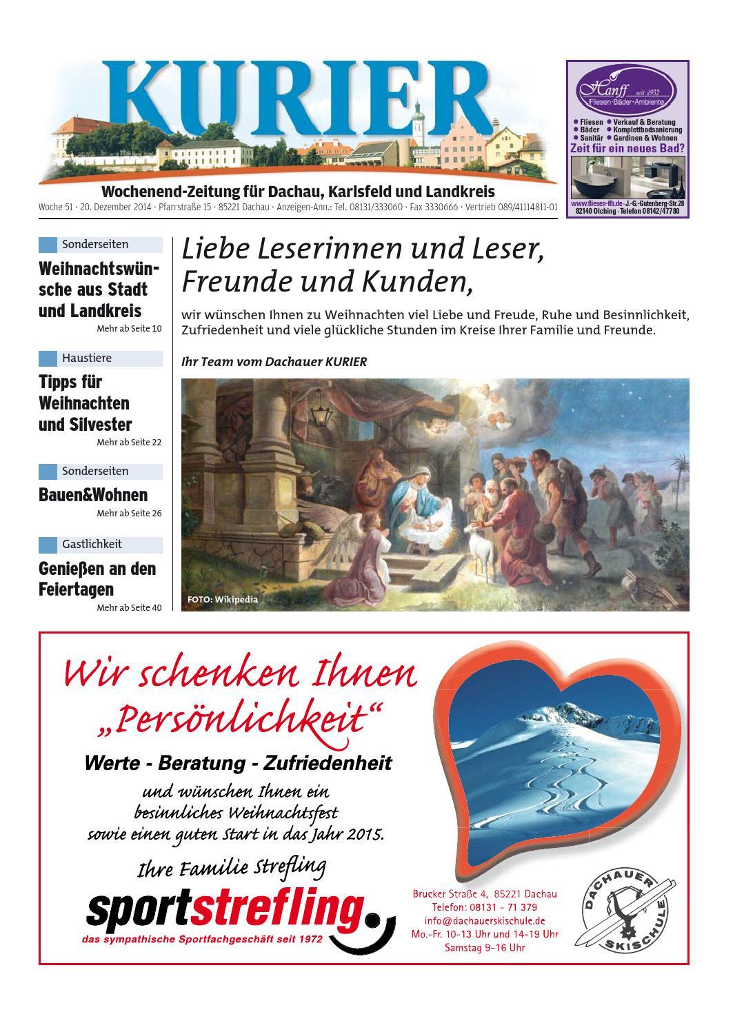 KW 51-2014 by Wochenanzeiger Medien GmbH - issuu