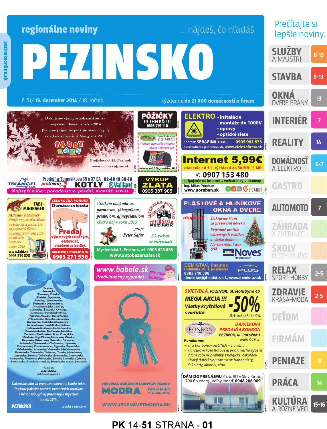 ab650a62a75e PEZINSKO 14-51 by pezinsko - issuu