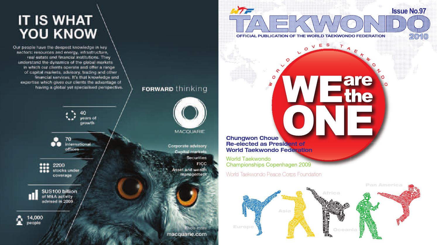 Taekwondo 2010 By Dunsar Media Pany Limited Issuu