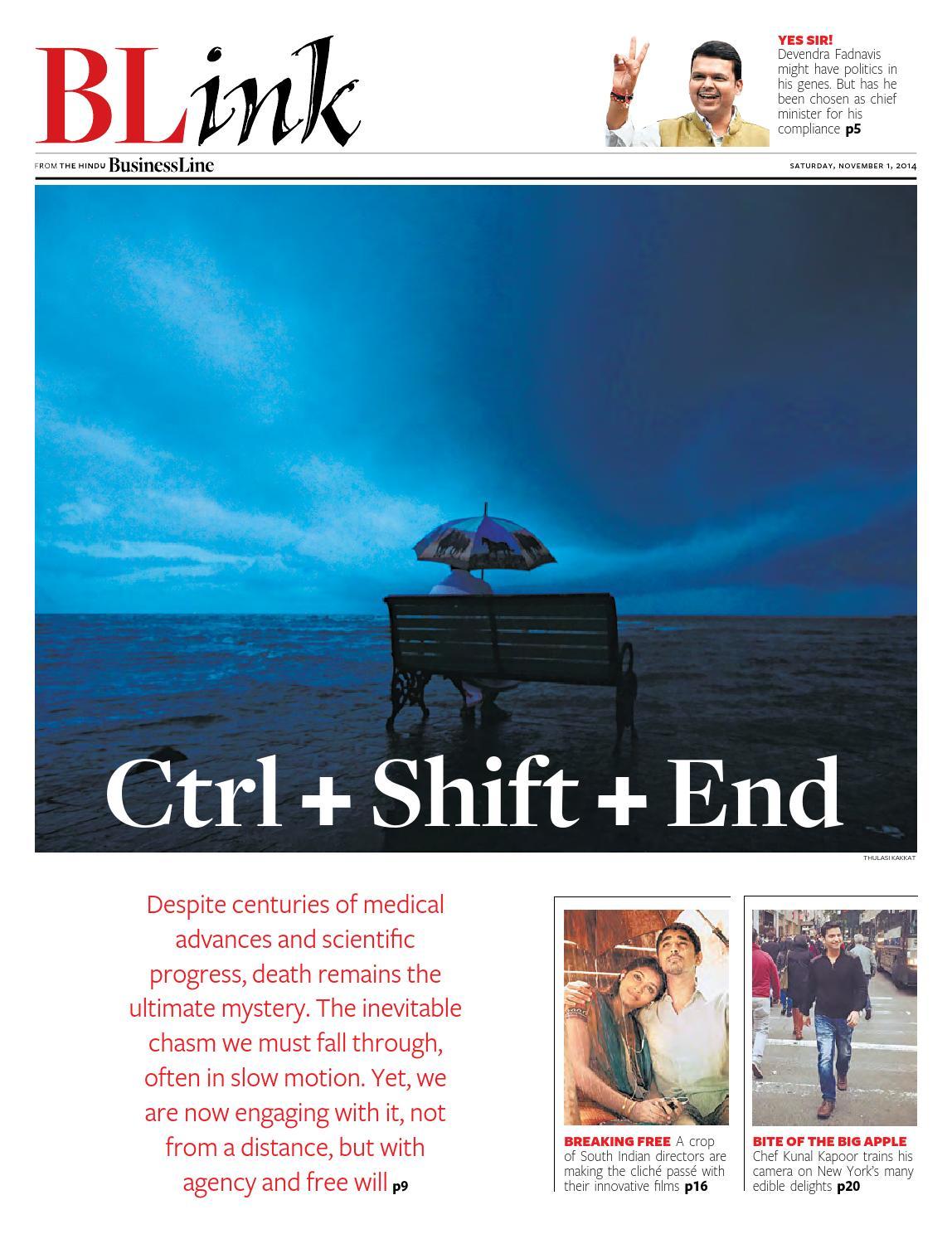 Blink issue 40 november01 2014 by Partha Pratim Sharma-Portfolio - issuu