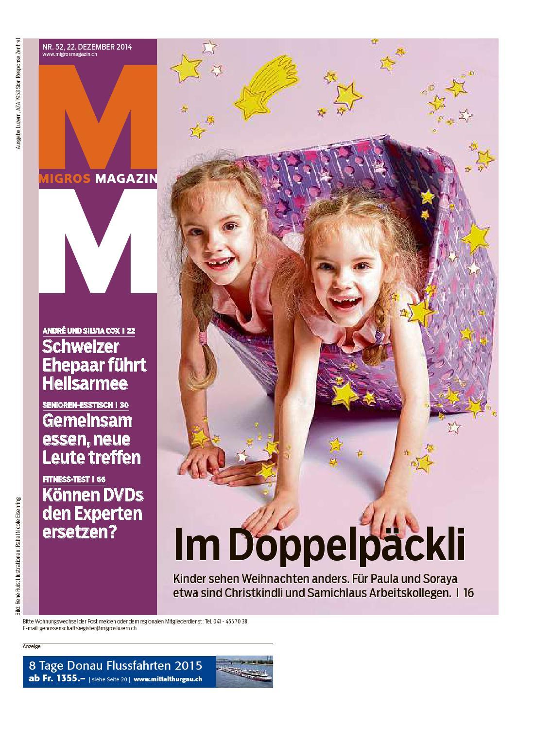 Migros magazin 52 2014 d lu by Migros-Genossenschafts-Bund - issuu