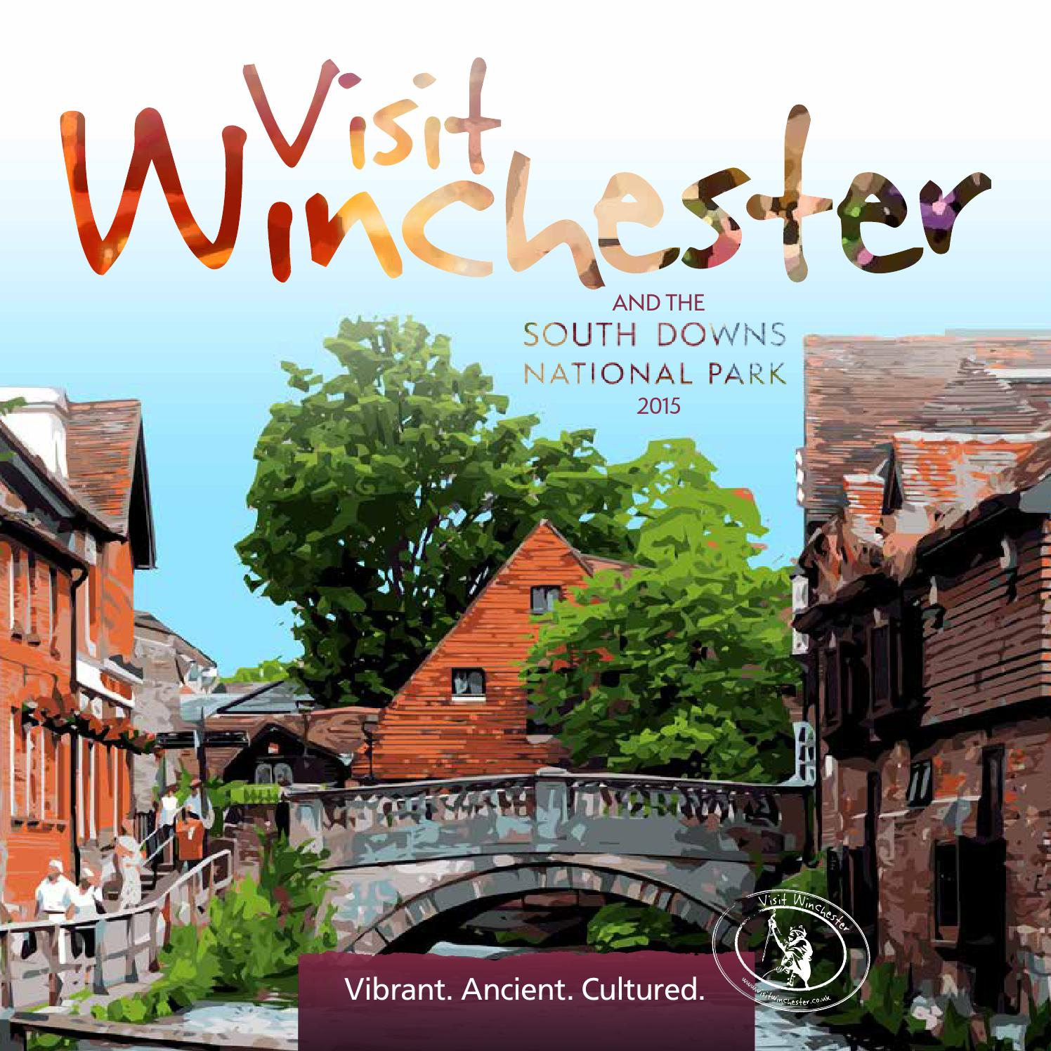 Visit Winchester 2015 Visitor Guide By Communications