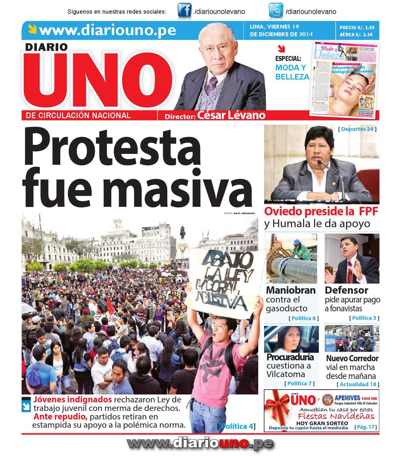 Diario UNO - 19 Diciembre 2014 by Diario UNO - issuu