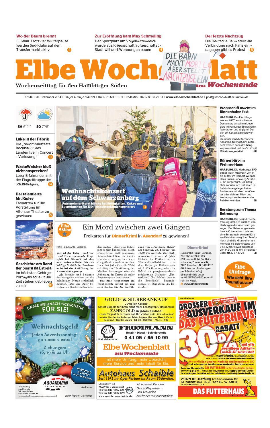 Wochenende KW51-2014 by Elbe Wochenblatt Verlagsgesellschaft mbH ...