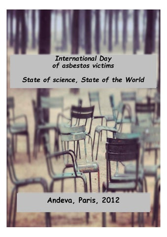 International day of asbestos victims by andeva by linda reinstein international day of asbestos victims state of science state of the world urtaz Choice Image