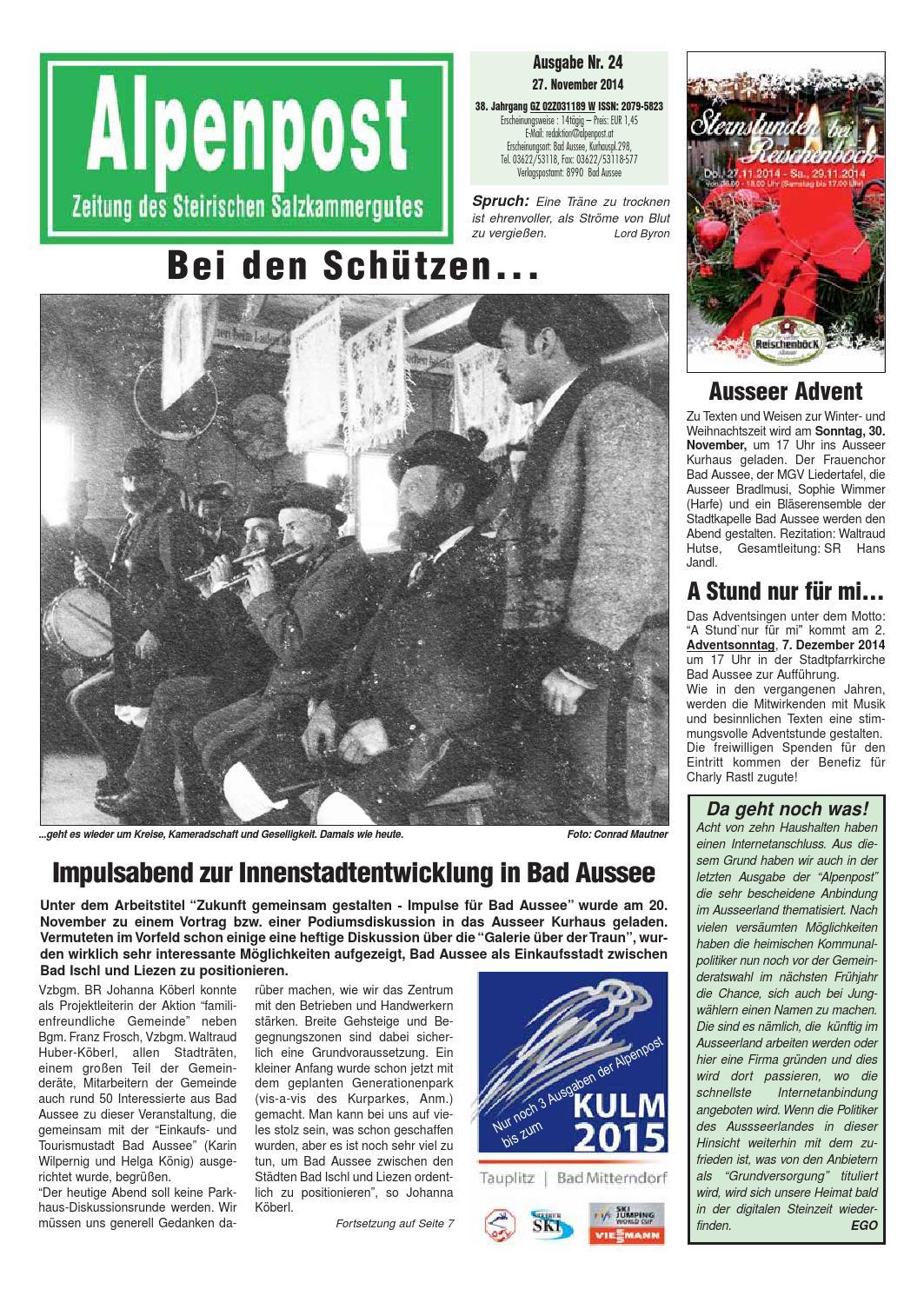 Alpenpost 24 2014 by Alpenpost Redaktion - issuu