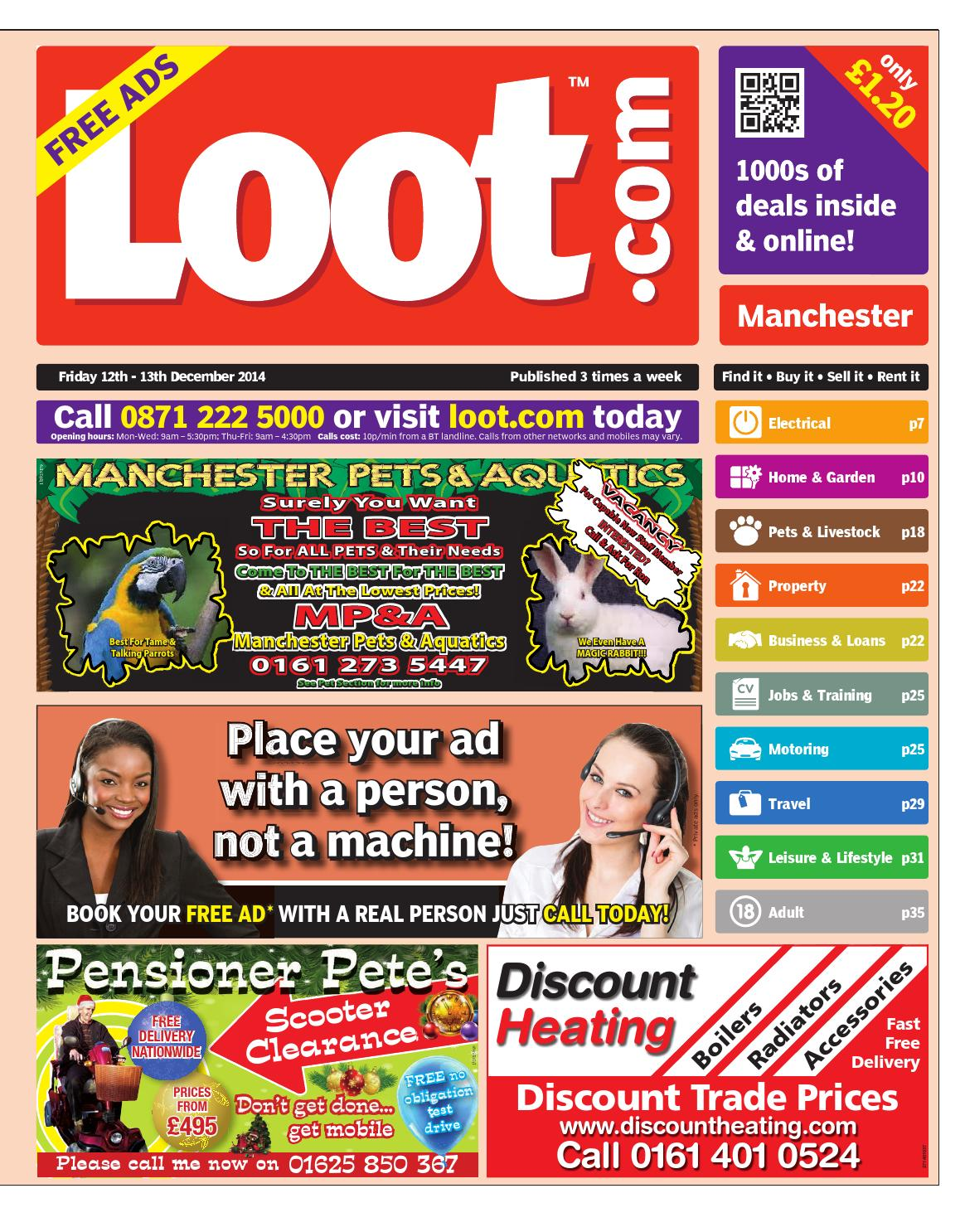 e60cad29030 Loot Manchester 12th December 2014 by Loot - issuu