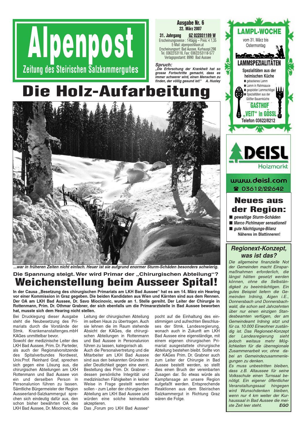Alpenpost 06 2007 by Alpenpost Redaktion - issuu