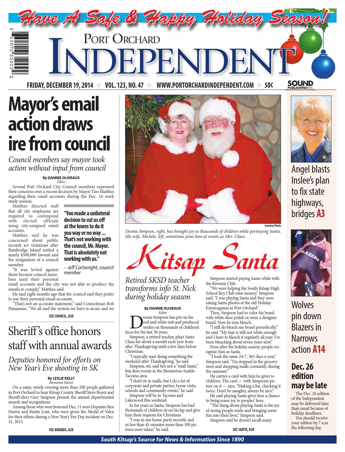 Olympic cycle port orchard - Port Orchard Independent December 19 2014 By Sound Publishing Issuu