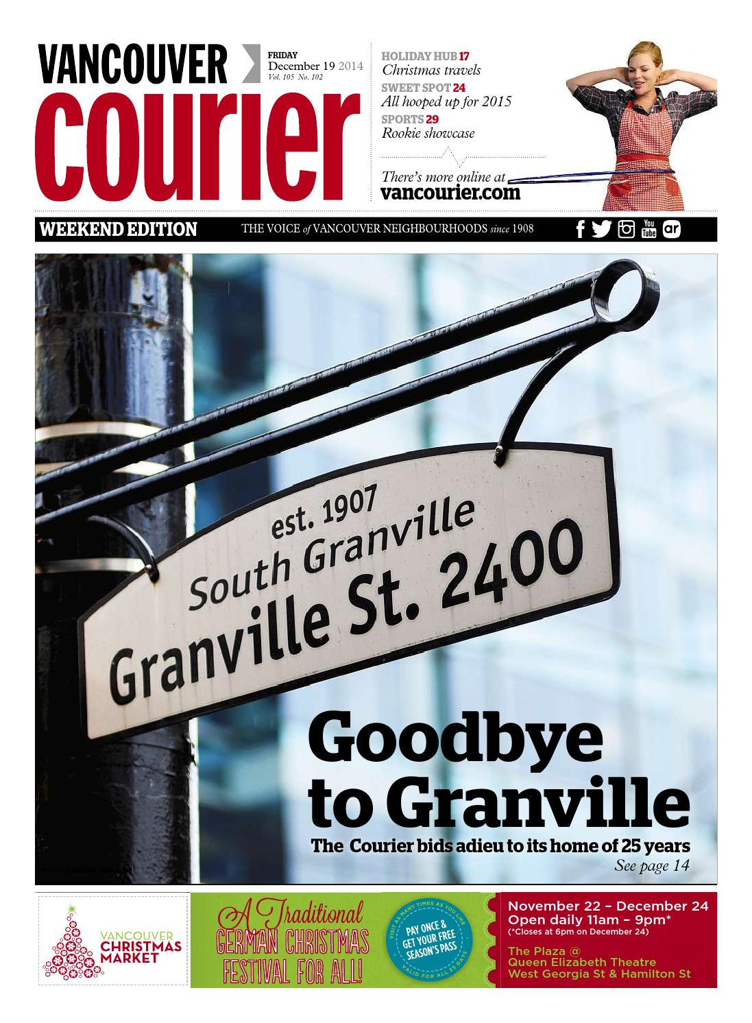 Vancouver courier december 19 2014 by vancouver courier issuu fandeluxe Image collections