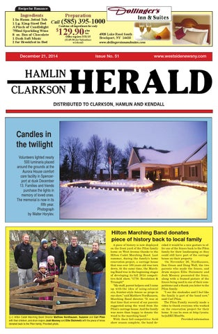 HamlinClarkson Herald December By Westside News Inc Issuu - What is a deposit invoice rocco's online store