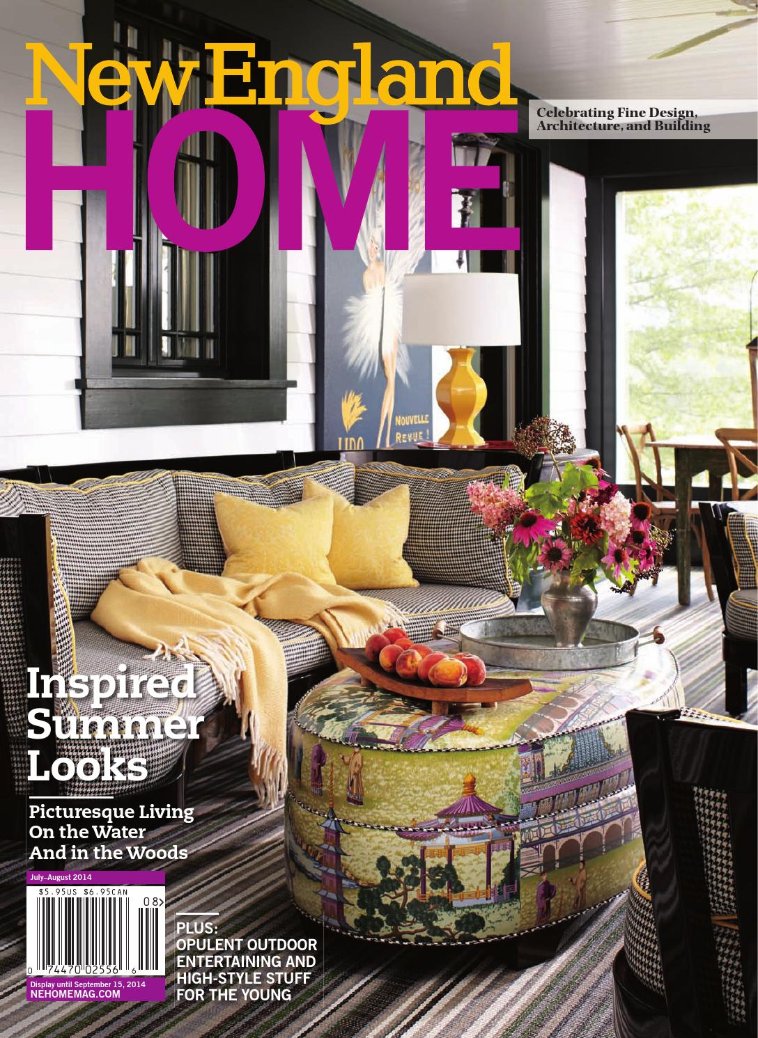 New england home july august 2014 by new england home magazine llc issuu