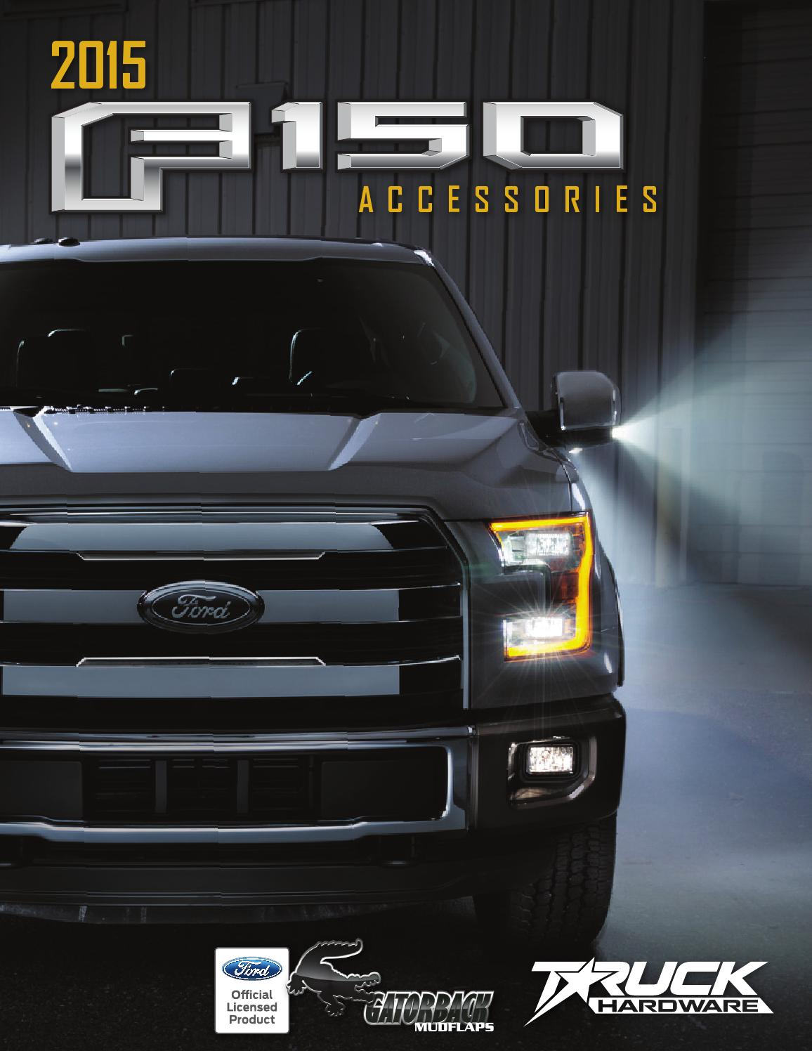 2015 Ford F 150 Accessories Catalog By Truck Hardware Issuu