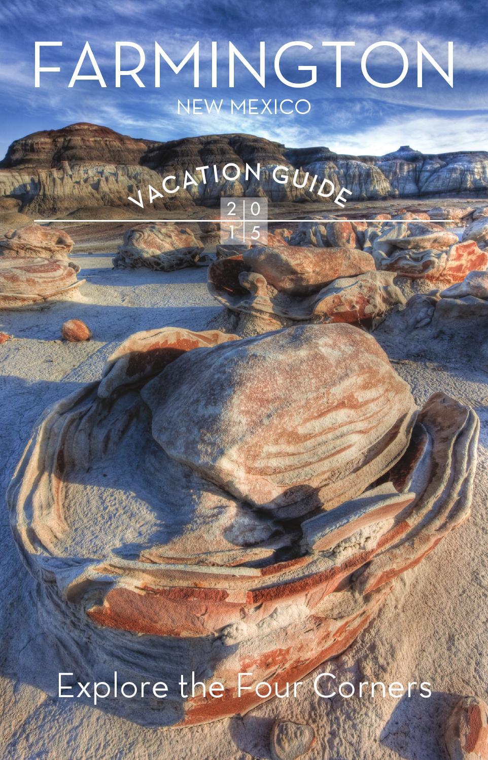 Farmington New Mexico 2015 Vacation Guide By Hawk Media