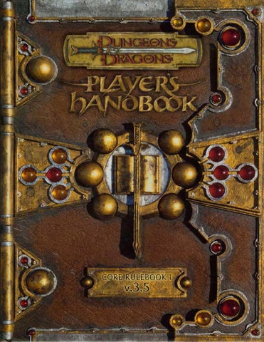 D&d 3 5 players handbook by Tim Carbone - issuu