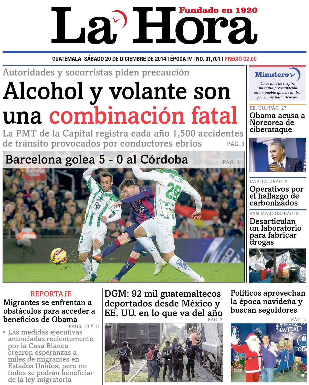 Diario La Hora 20-12-2014 by La Hora - issuu