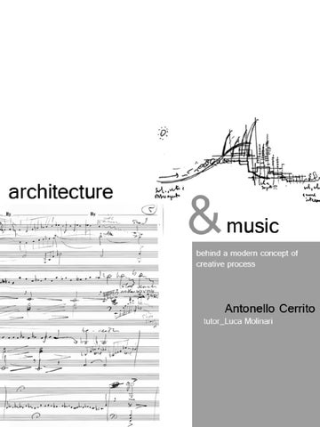 relationship between music and architecture But the fundamental relationship between architecture and mathematics is found  architecture and mathematics: art, music and science 15 00 ~.