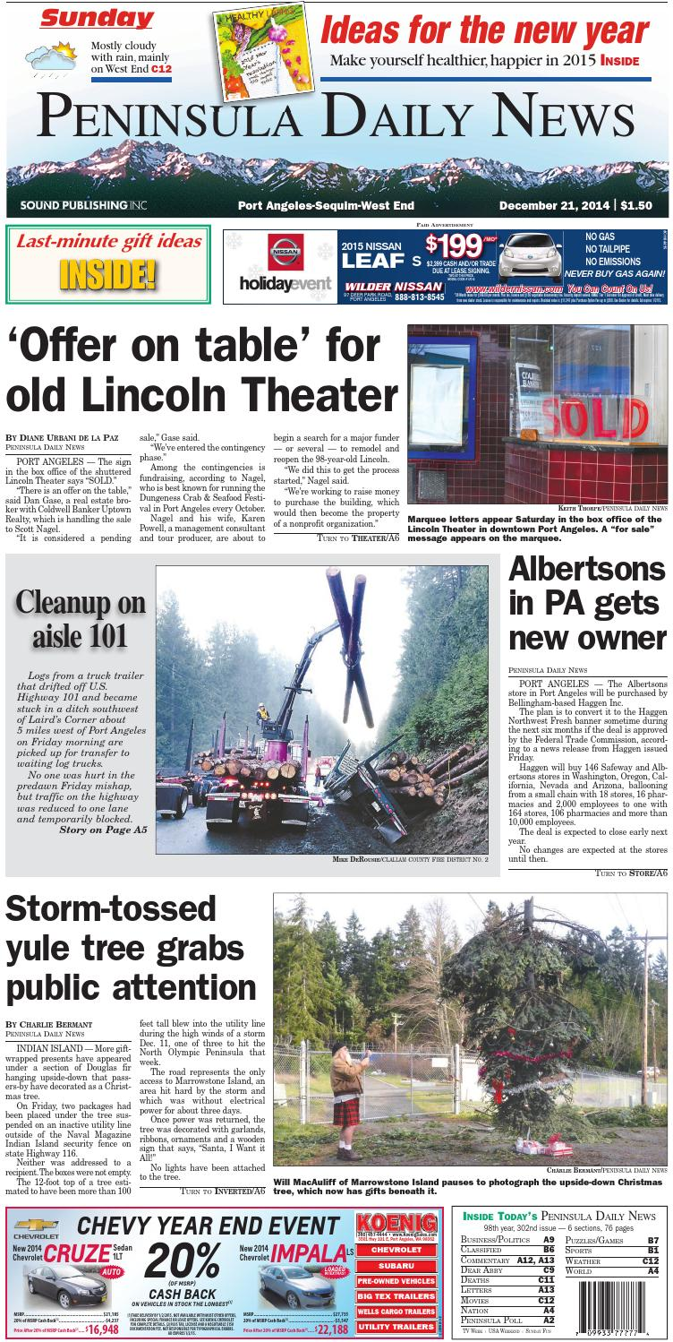 6599d83af8bf PDNN20141221C by Peninsula Daily News   Sequim Gazette - issuu