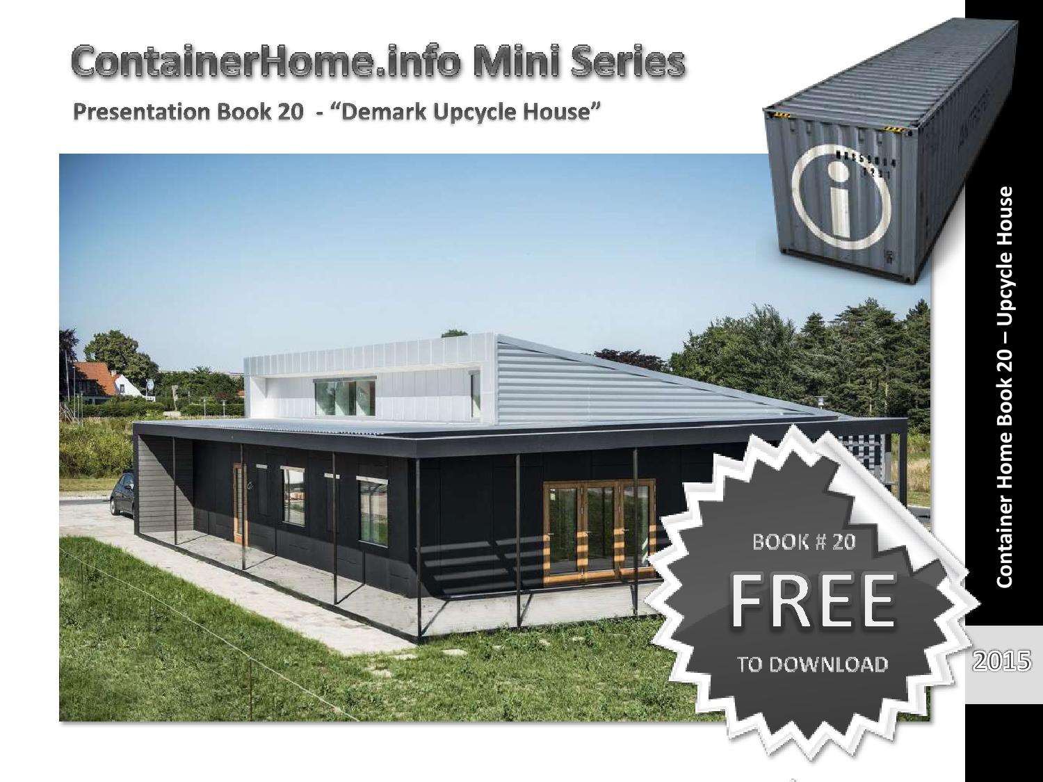 Container home info shipping house plan book series for House plan books online