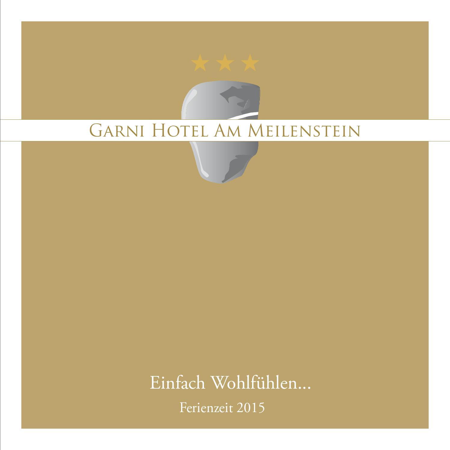 Ferienzeit 2015 Garni Hotel Am Meilenstein By Zeppelin Group Issuu