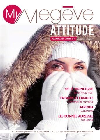 MyMegève Attitude Hiver 2015 by Édimontagne issuu