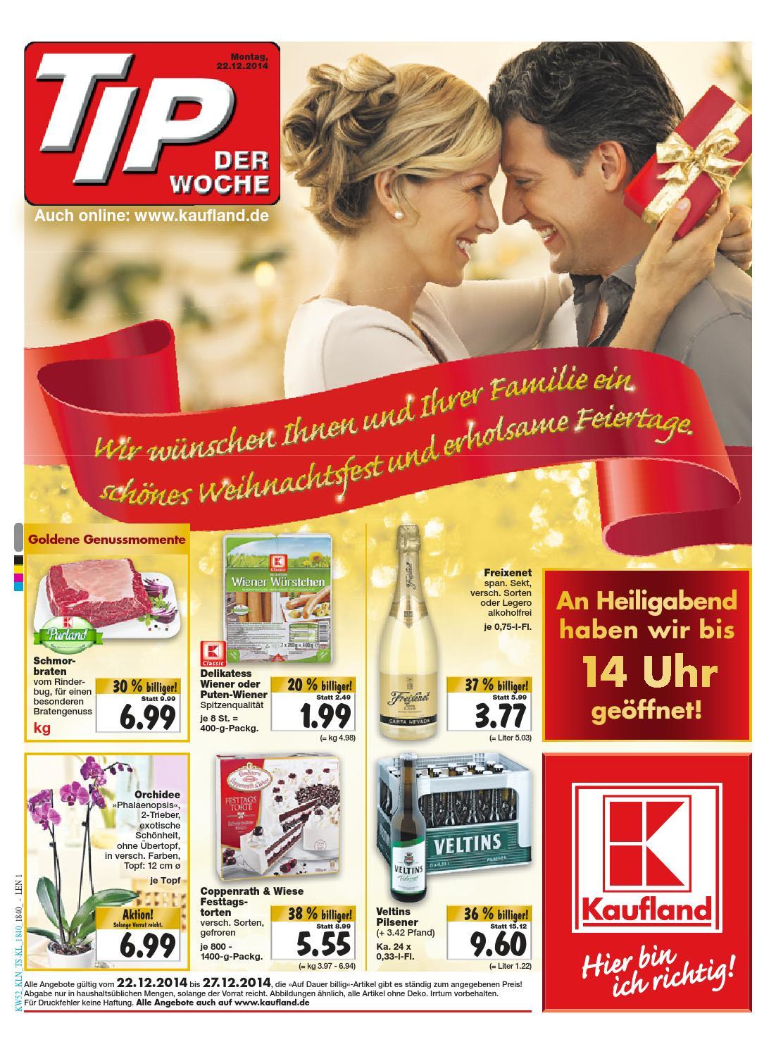 Kaufland Prospekt - Angebote ab 22.12.14 by Onlineprospekt - issuu