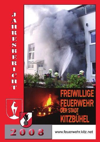 Jahresbericht 2008 der Stadtfeuerwehr Kitzbühel by Stadtfeuerwehr ...