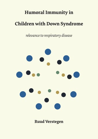 Humoral Immunity In Children With Down Syndrome Relevance To