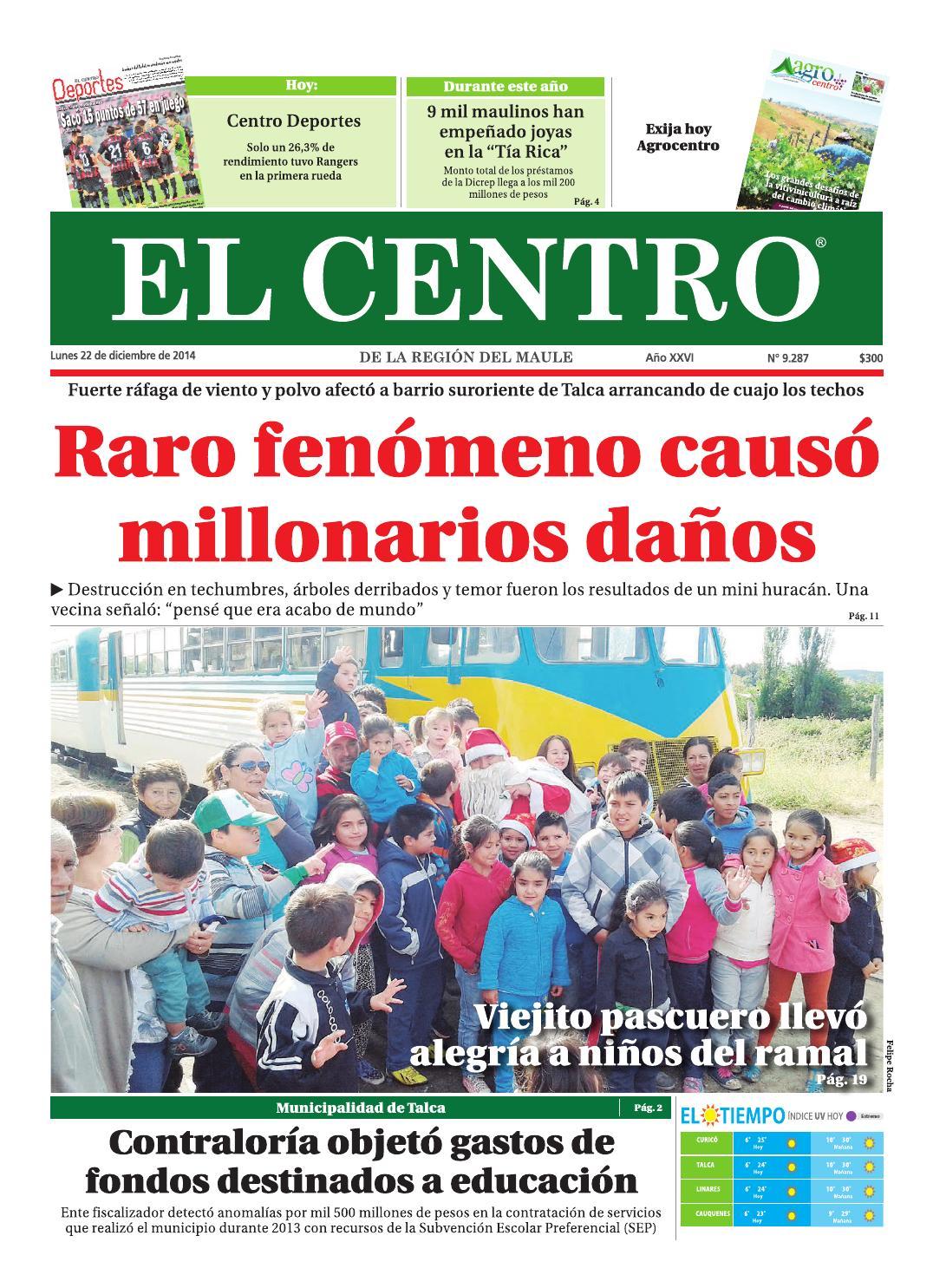 126ab500b540 Diario 22-12-2014 by Diario El Centro S.A - issuu