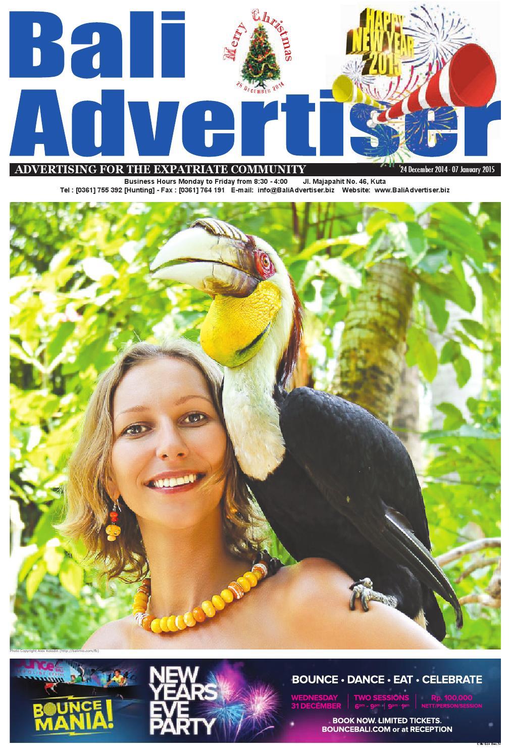 BA 24 December 2014 By Bali Advertiser