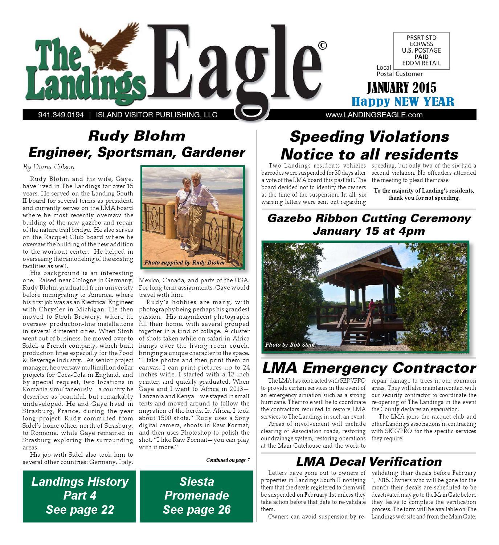 Landings Eagle January 2015 by Emy Stein issuu