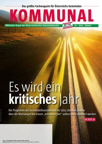 Kommunal 1/2015 by Gemeindebund - issuu