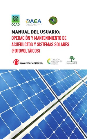 Manual Del Usuario Operaci 243 N Y Mantenimiento De Acueductos