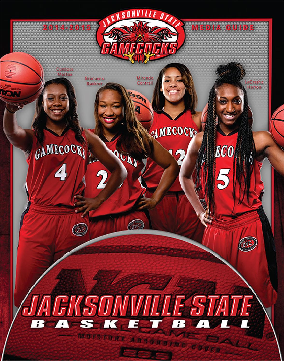 2014-15 Jacksonville State Women's Basketball Media Guide by Jacksonville State Athletics - Issuu
