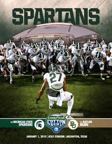 2015 Michigan State Cotton Bowl Classic Media Guide By Ben