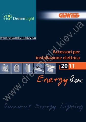 Gewiss Accessori By Www.dreamlight.kiev.ua   Issuu