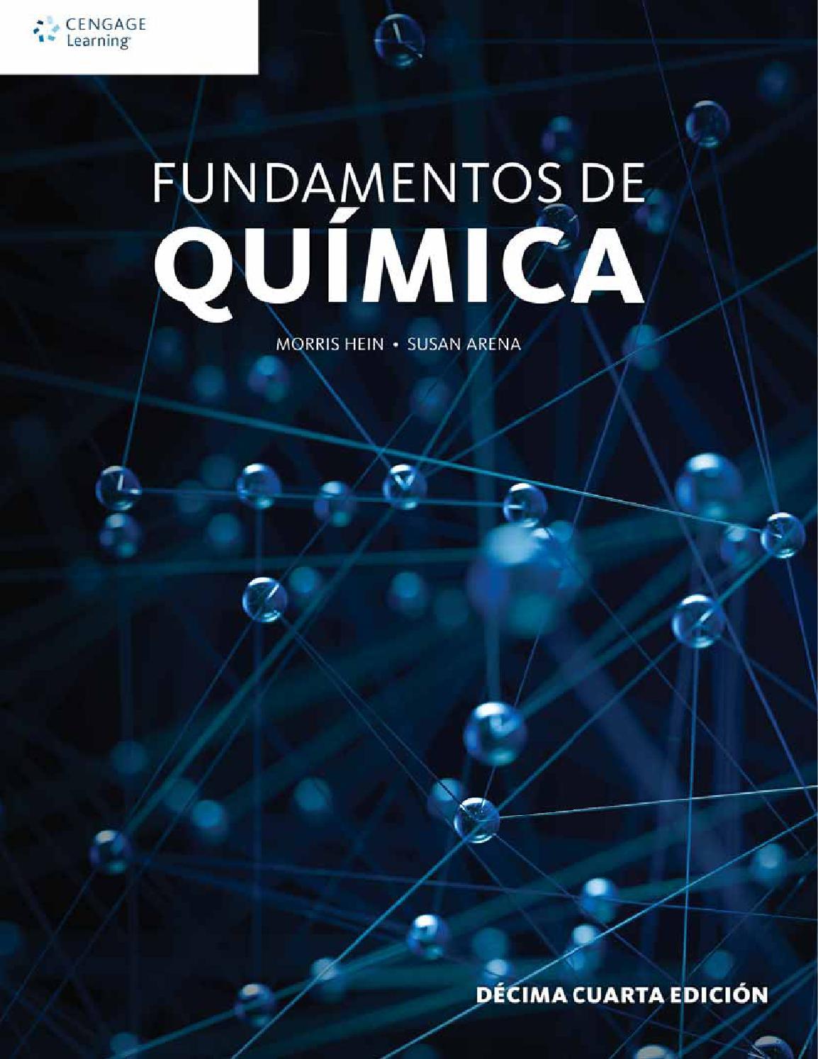 Fundamentos de qu mica 14a ed morris hein y susan arena for Libro la quimica y la cocina pdf