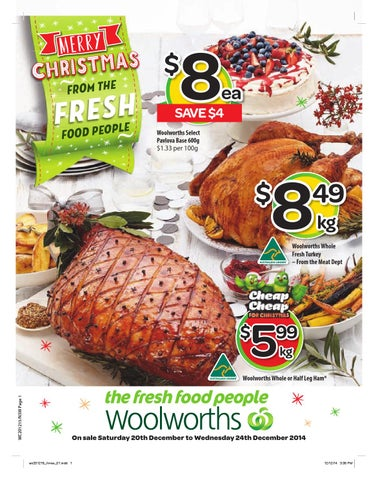 Nsw woolworth christmas catalogue 20122014 24122014 by page 1 forumfinder Gallery